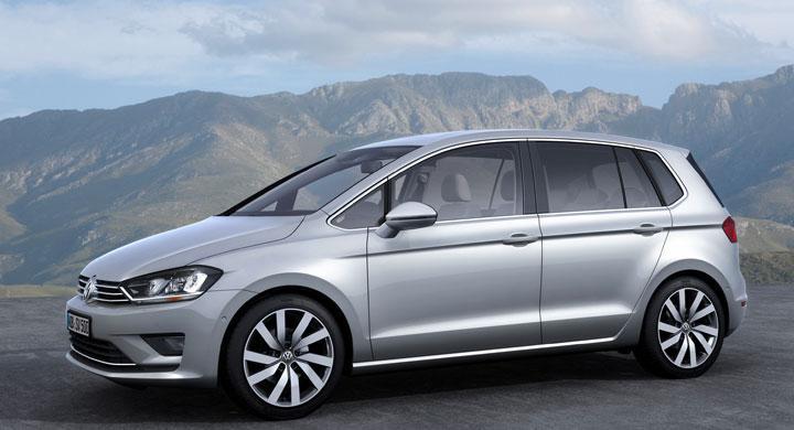 Här är Volkswagen Golf Sportsvan – nya Golf Plus