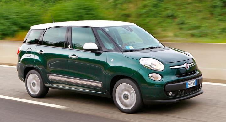 Provkörning: Fiat 500L Living och Trekking (2013)