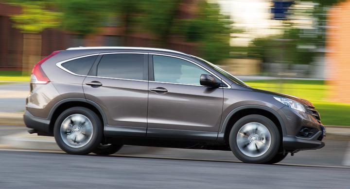 Provkörning: Honda CR-V 1.6 i-DTEC (2013)