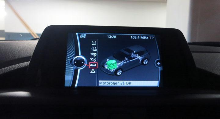 BMW:s fjärrlås ger serviceinformation