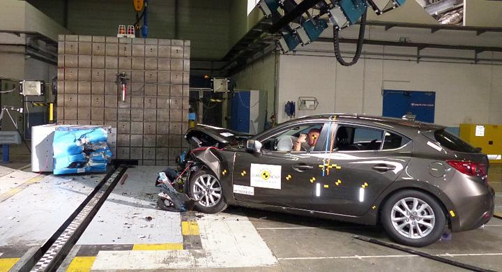 Euro NCAP: Fem stjärnor till sex bilar