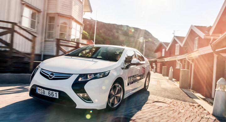 Opel Ampera – endast för behöriga