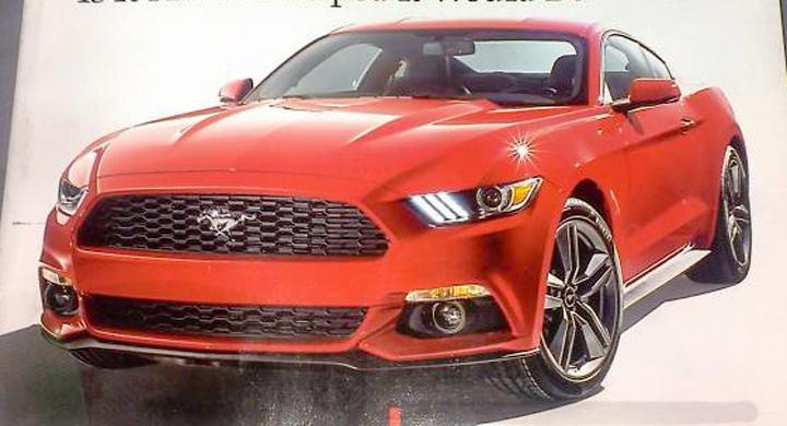 Nya Ford Mustang – första bilderna