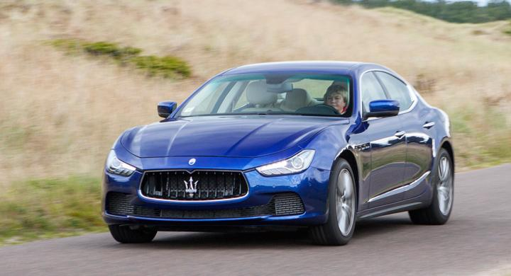 Provkörning: Maserati Ghibli (2013)