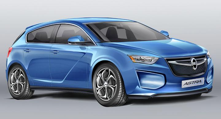 Så blir nya Opel Astra – debut 2015