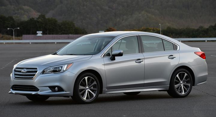 Nya Subaru Legacy – bilder och fakta