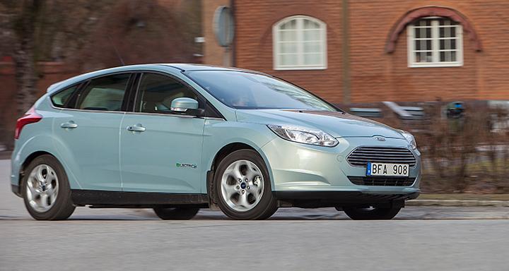 Provkörning: Ford Focus Electric (2014)