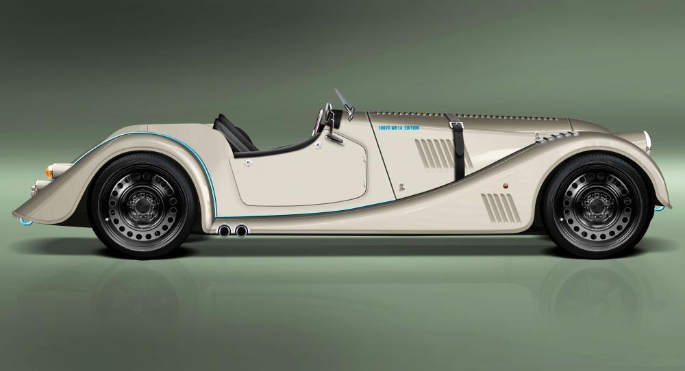 Morgan Plus 8 Speedster – tävlingsbil för gatan