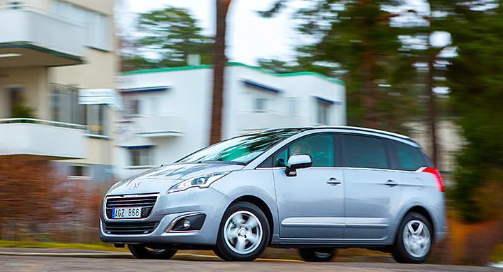 Provkörning: Peugeot 5008 (2014)