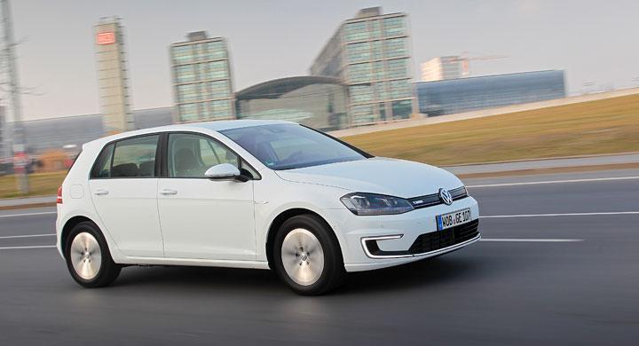 Provkörning: Volkswagen E-Golf