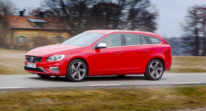 Provkörning: Volvo V60 T5