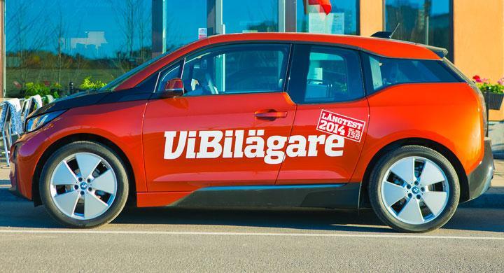 Vi Bilägares BMW i3 drar uppmärksamhet till sig. Efter 260 mil är det dock flera saker som förbryllar med den lilla elbilen.