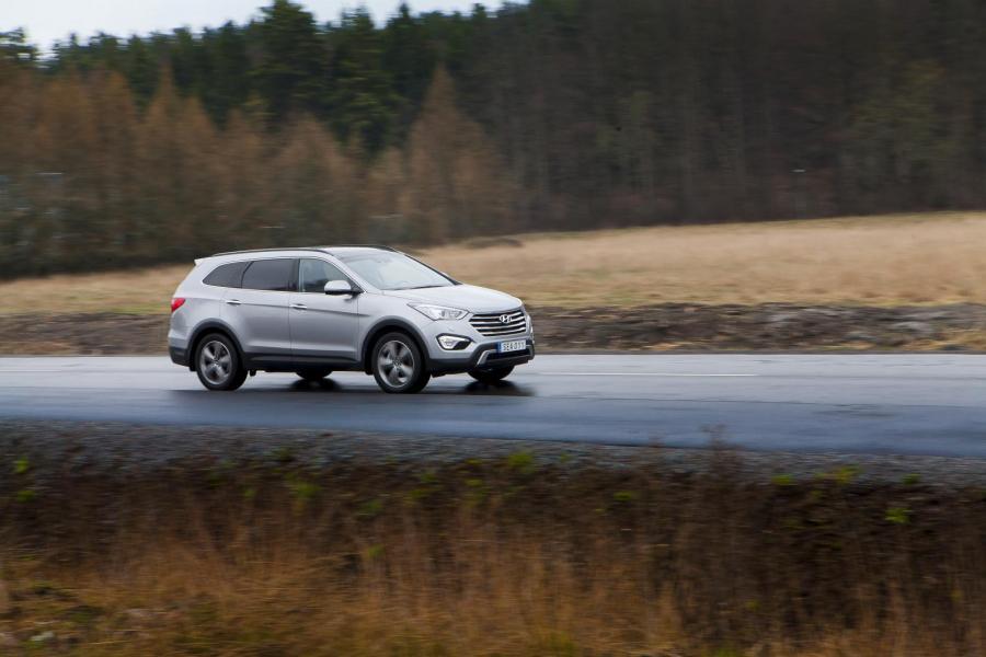Provkörning: Hyundai Grand Santa Fe