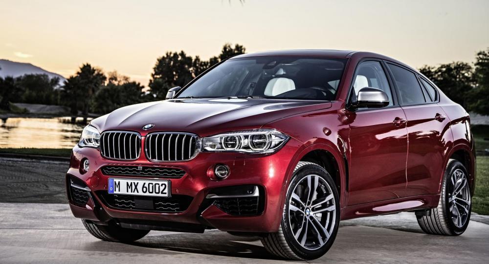 BMW presenterar generation två av SUV-coupén X6.