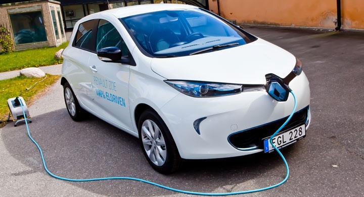 Provkörning: Renault Zoe