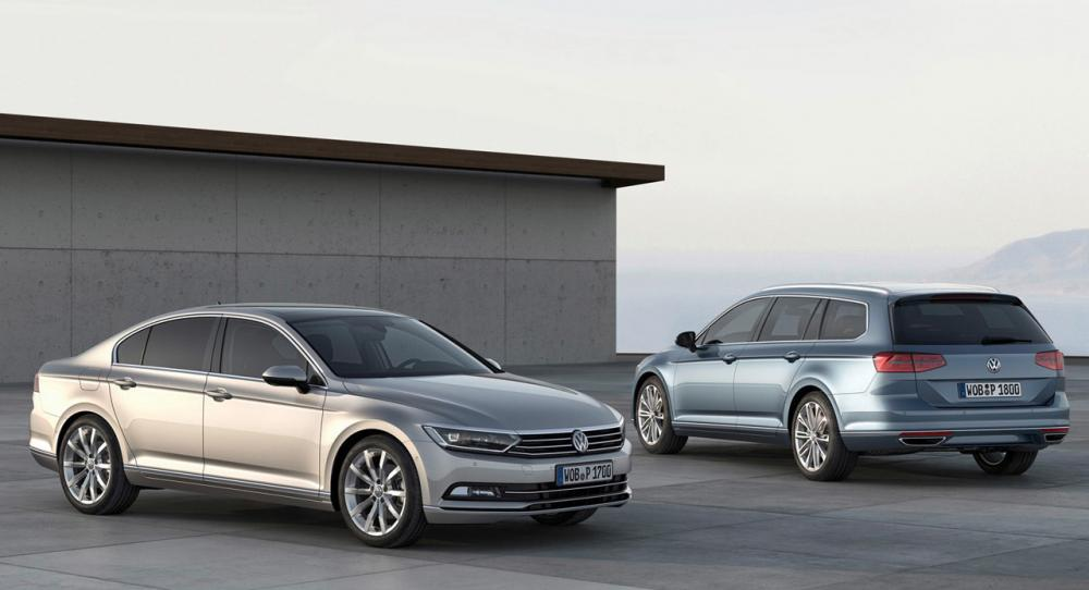 Volkswagen Passat 2015 bygger på största versionen av MQB-plattformen.