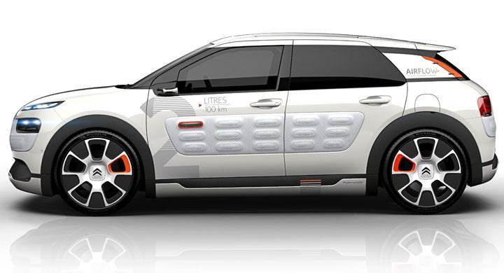 Citroën Cactus-koncept ska dra under två liter