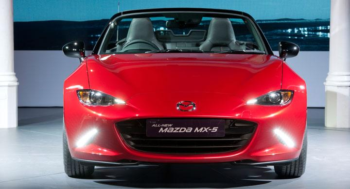Mazda visar nya MX-5