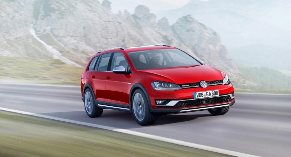 Volkswagen Golf kommer för första gången som Alltrack-modell.