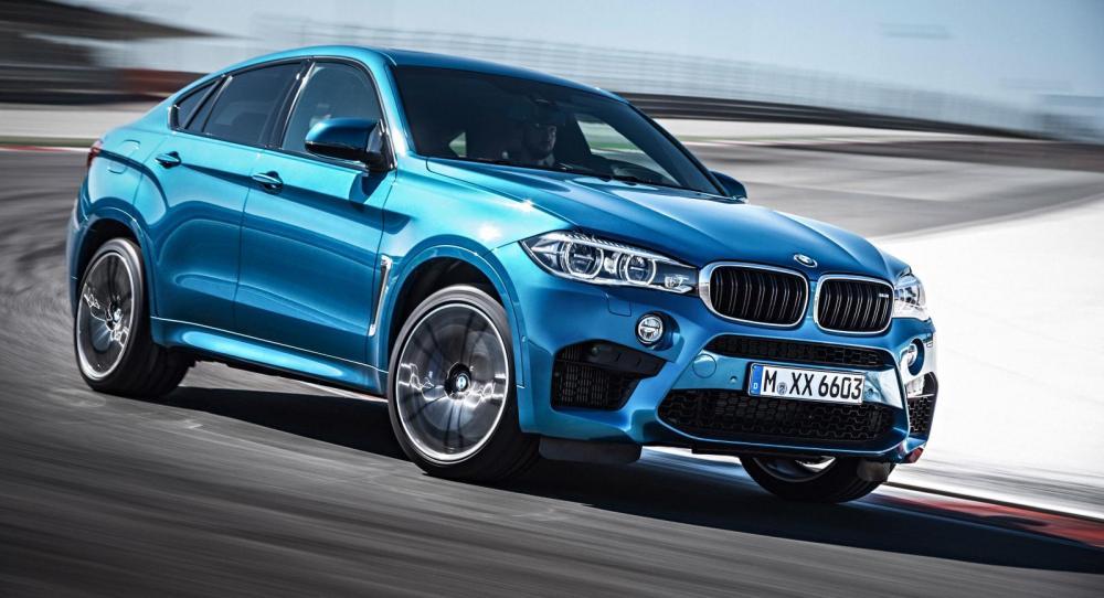 BMW X6 M 2014 gör debut på bilsalongen i Los Angeles.