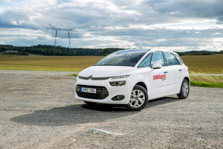 Rosttest: Citroëns C4 Picasso (2014)