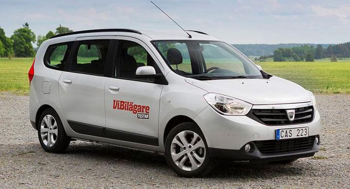 Bilfrågan: Är Dacia Lodgy säker?