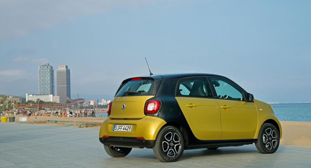 Smart Forfour 2014.