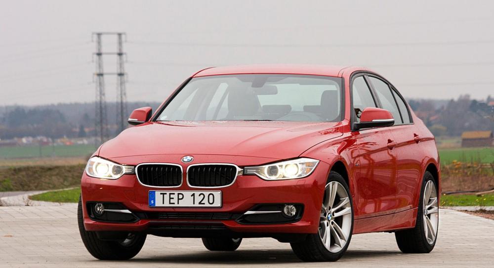 Provkörning: BMW 316i