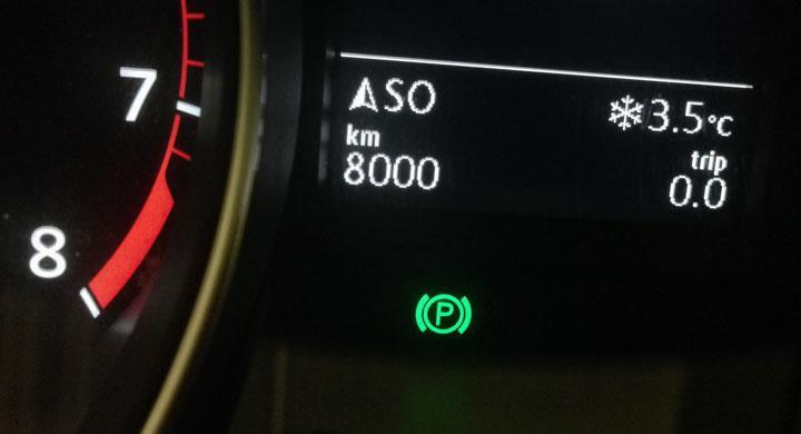Första 800 milen avklarade