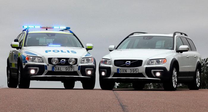 XC70 polis skiljer sig på många punkter från en standard XC70.