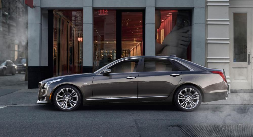 Cadillac CT6 utmanar med lyx och låg vikt.