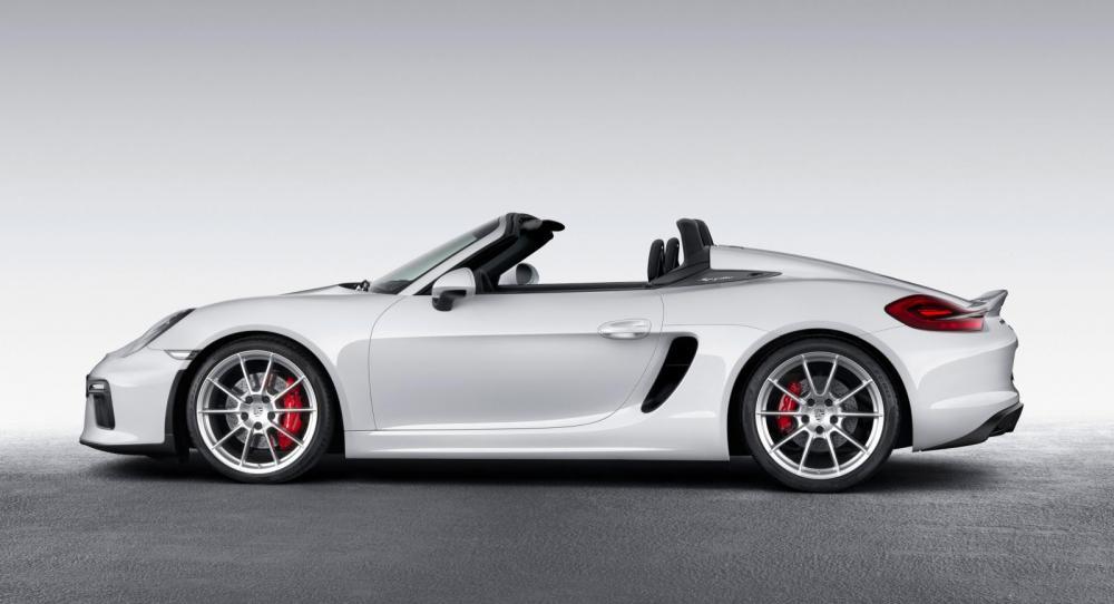 Nya Porsche Boxster Spyder