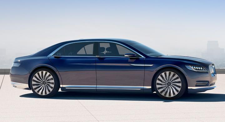 Är nya Lincoln Continental Concept...