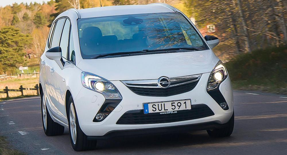 Opel Zafira är inte den vanligaste MPV:n på våra vägar.