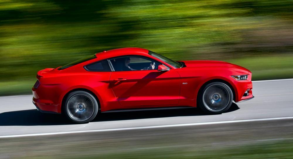 Vi har kört nya Ford Mustang.