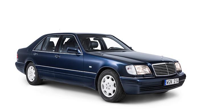 Bilen på bilderna är en topputrustad 600 från 1995.