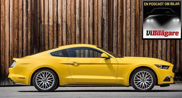 Vi har kört nya Mustang och Jaguar XE