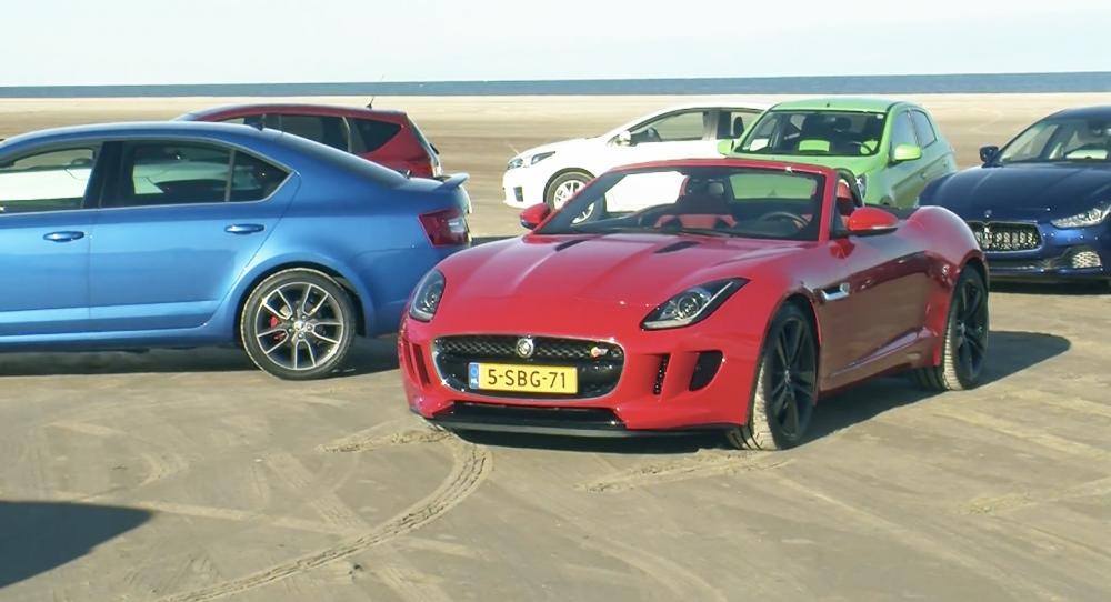Bildquiz: Bilar för stranden!