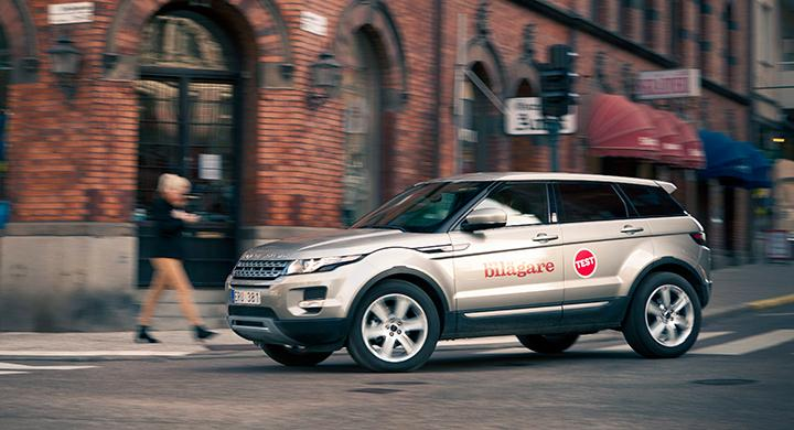 Vi Bilägare testade Range Rover Evoque 2011.