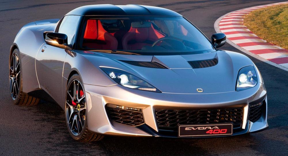 Lotus Evora 400 kommer som taklös.