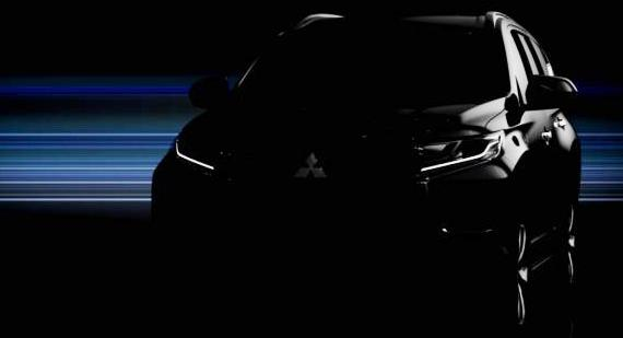 Nästa Mitsubishi Pajero visas i helthet nästa månad.