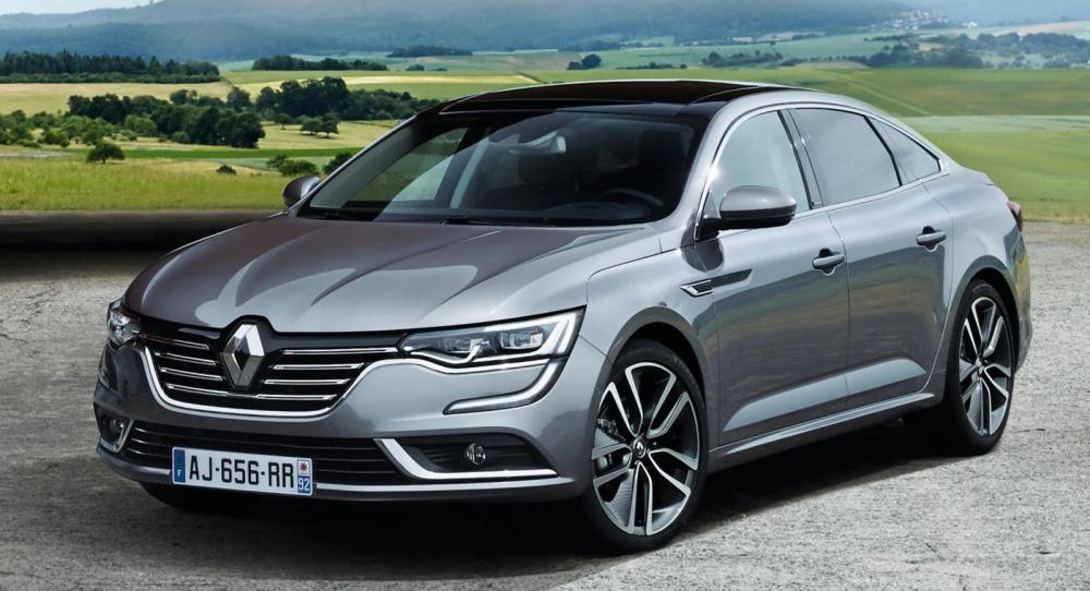 Här är Renaults nya mellanklassedan Talisman.