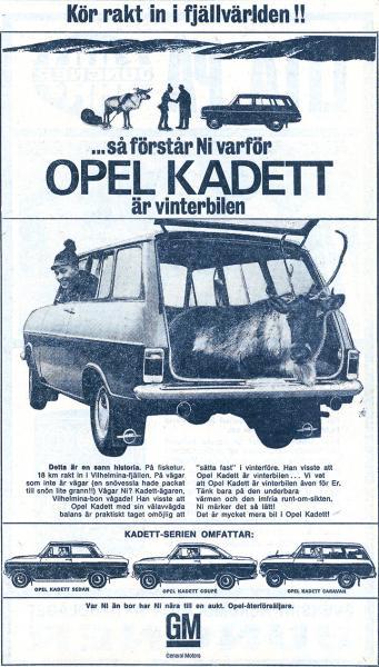 "Bilreklam vi minns: ""Vinterbilen"""