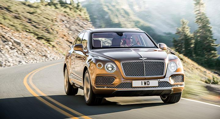 Bentley Bentayga 2016.