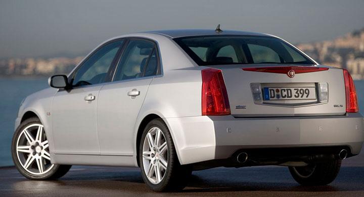 Cadillac BLS var i grunden samma bil som Saab 9-3.