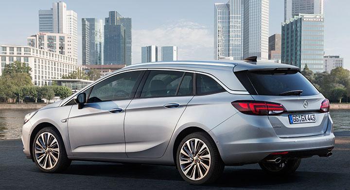 Opel Astra Sports Tourer 2016.