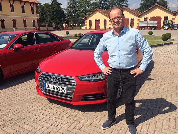 Nya Audi A4 är utrustad med många nyheter, även om det inte syns på utsidan.