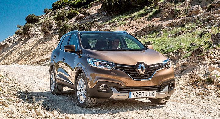 Renault Kadjar är sju centimeter längre än kusinen Nissan Qashqai.