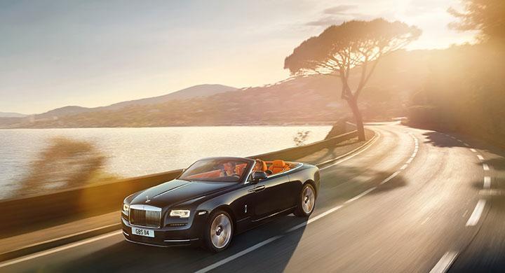 Rolls Royce Dawn 2016.