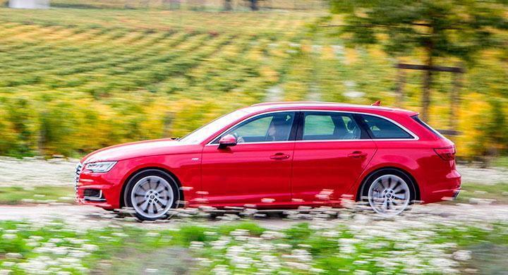 Varför ändra ett vinnande koncept, tänkte Audi när nya A4 skulle designas. Vissa modifieringar kan dock skönjas.